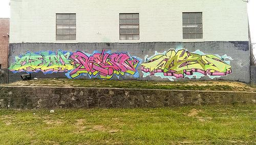 Three Graffiti Words
